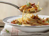 Pasta mit Tomatensauce Rezept